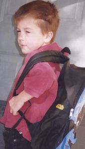Matt with backpack