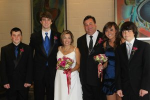 wedding family